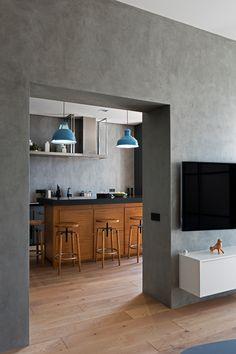 Skyline Residence Loft Apartment on Behance
