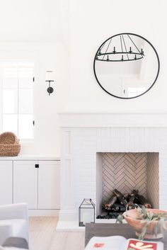 A Dreamy, Cottage-Inspired Rafterhouse Home Tour - Love and Specs Modern Cottage Style, Modern Farmhouse, Wood Front Doors, Cozy Room, Contemporary Home Decor, Cottage Homes, House Tours, Custom Homes, Small Spaces