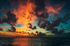 Photo Sunset Maldives by Maxim Chumash on 500px