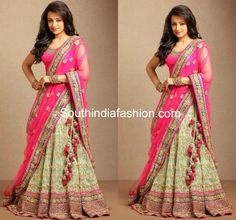 Trisha in Bridal Lehenga ~ Celebrity Sarees, Designer Sarees, Bridal Sarees, Latest Blouse Designs 2014