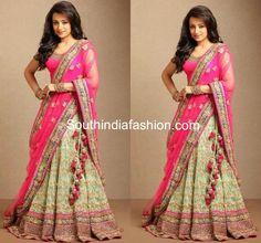 Trisha in Bridal Lehenga ~ Celebrity Sarees, Designer Sarees, Bridal Sarees, Latest Blouse Designs 2014