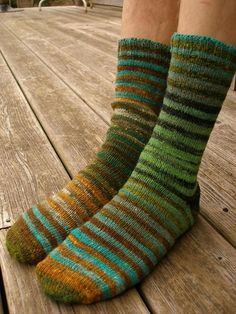 Noro striped socks. I'd love to have these. I may have to give myself the yarn for my birthday
