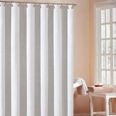 DR International Bahamas Hotel Shower Curtain in White - BHSWH 12  9473