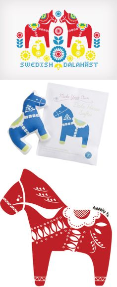 dala horse /swedish
