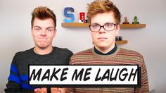 Make me laugh! NikiNSammy created their own challenge video on Did you laugh? Youtubers, I Laughed, Twin, Challenges, Facebook, Twitter, How To Make, Twins
