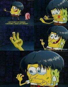Levi attack on titan SpongeBob