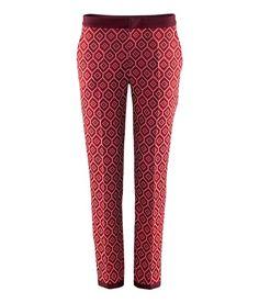 Mis nuevos pantalones de estampado geométrico o psicodélicos de H Estila Estilo - Un blog de moda y belleza para mujeres