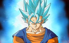 Download imagens Goku, arte, DBZ, Dragon Ball Super, caracteres, Son Goku