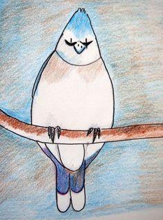 Blue Bird | Alma Schouman's blog