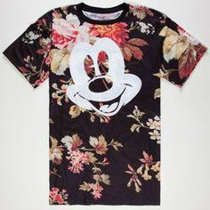NEFF Disney Collection Mickey Face Mens T-Shirt