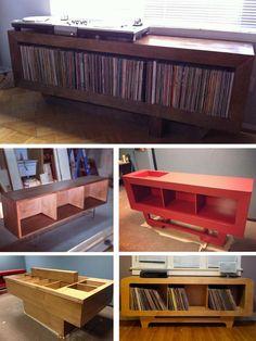 Ubiquity Records Cool handmade record bins by Vinylog from California... Vinylog: http://on.fb.me/W1fZ1k