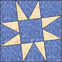 Quilt-Pro Systems - Quilt-Pro -  Block of the Day- Tilted Star-The Block of the Day is available to all quilters, regardless of whether you own our software programs. You can download the Block of the Day as a .pdf file