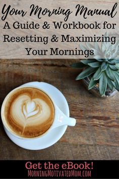 Your Morning Manual: A Guide & Workbook for Resetting & Maximizing Your…