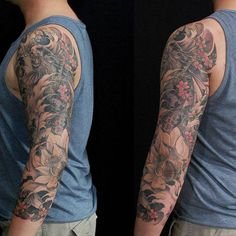 Chronic Ink Tattoo - Toronto Tattoo  Dragon Koi Tattoo by Marilyn.