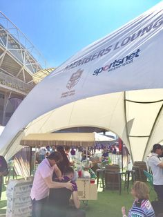 NRL Grand Final Fan Engagement free massages in members lounge