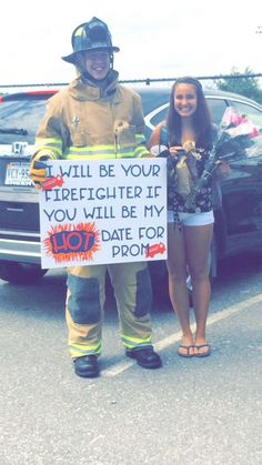 Babe you're too hot - I'm on fire  Prom Dance?