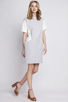 Elegant Cocktail Dresses – Simple Dress / gray – a unique product by Lanti_Official via en.DaWanda.com