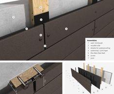 Rieder Oko Skin GFRC Cladding Panels - Trowel Trades Supply, Inc - Salvabrani Exterior House Siding, Exterior Cladding, Cladding Panels, Wall Cladding, Concrete Cladding, Timber Cladding, Concrete Tiles, Modern Exterior, Exterior Design