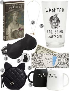 30 Gifts for Cat Loving Friends @kniture you need those mugs!