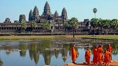 Angkor wat is biggest temple around the wold it  became the world heritage and the most beautiful place in Cambida