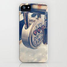 Love locks iPhone & iPod Case by lovelyoutlier - $35.00