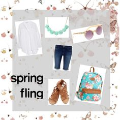 """Let your style Bloom this spring!"" by athasyaas on Polyvore"