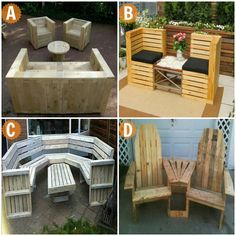 It's time to ask the audience!  If you can have one of these pieces of outdoor furniture made from recycled pallets, which would you pick and why?  You'll find LOTS of ideas for repurposing pallets on our main site at  http://theownerbuildernetwork.co/x4vr