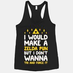 I Would Make A Zelda Pun But I Don't Wanna Tri And Force It | HUMAN