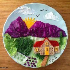 Kids Food Crafts, Food Art For Kids, Cooking With Kids, Cute Snacks, Cute Food, Finger Foods For Kids, Creative Food Art, Food Carving, Food Decoration