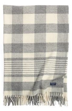 FARIBAULT WOOLEN MILL Buffalo Check Merino Wool Throw available at #Nordstrom