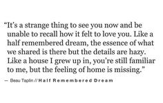 Crazy love.. Remembered Dream by Beau Taplin