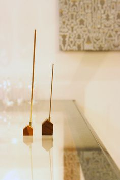 This little adorable incense holder not only will add a bit of Zen but design beauty to your house!