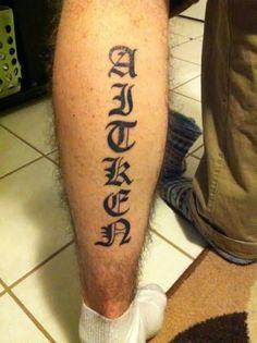 60  Awesome Calf Tattoo Designs Ever Made | Golfian.com
