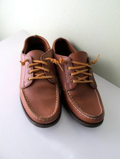 Does anyone else remember Sebago shoes from high school?