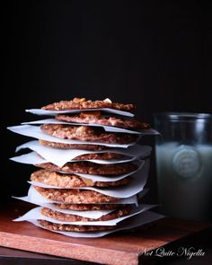 These Chocolate Macadamia Anzac Biscuits look irresistibly good, by Coco AU fan 'Not Quite Nigella'.