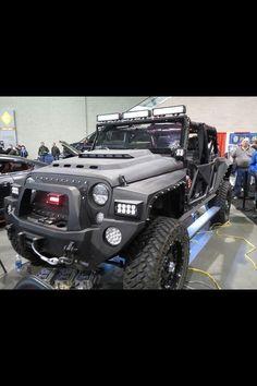 Custom Jeep by zombieite, via sport cars vs lamborghini sports cars cars cars Wrangler Jeep, Jeep Jk, Jeep Truck, Jeep Rubicon, Cool Jeeps, Cool Trucks, Big Trucks, Car Best, E90 Bmw