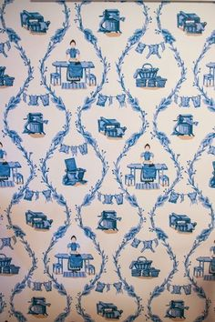 Chinoiserie Chic: My Laundry Room Reveal - A Sneak Peek