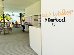 Duke's Lobster & Seafood restaurant at Finest Playa Mujeres