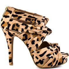 #Leopard Heels I Love #heels #summer #high_heels #color #love #shoes Katrena - Leopard JustFab