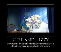 ciel x lizzy | ciel and lizzy by SecretKeeper13 on deviantART