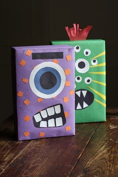 Cereal Box Monsters - Crafts by Amanda