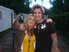 Tommy Lee and sister Athena