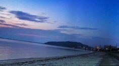 13 June 4:47 薄明(dawn)の博多湾です。 Morning now at Hakata bay in Japan