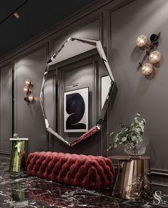 Home Room Design, Dream Home Design, Modern House Design, Modern Interior Design, Living Room Designs, Luxury Homes Interior, Interior Architecture, Staircase Architecture, Modern Staircase