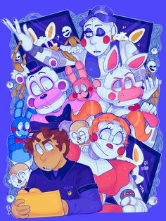 Fnaf 5, Anime Fnaf, Animatronic Fnaf, Fnaf Wallpapers, Freddy 's, Fnaf Characters, Fnaf Sister Location, Fnaf Drawings, Circus Baby