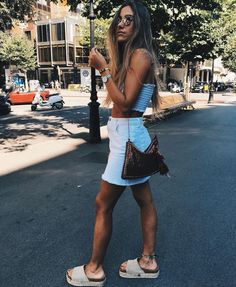 Pin by samantha hammack on my style in 2019 худые девушки, п Summer Outfits Women, Trendy Outfits, Cute Outfits, Fashion Outfits, Womens Fashion, Fashion Hacks, Fashion Killa, Look Fashion, Retro Fashion