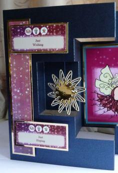 Duo-Fold Card by Sheila Weaver - Joanna Sheen