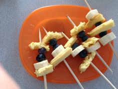 Waffle kabobs!!......What is the point?  This is bizarre.