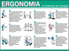 dicas de segurança no trabalho ergonomia - Pesquisa Google