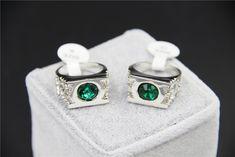 Fashion Perhiasan Perak Charm Green Lantern Cincin Untuk Pria Dan Wanita